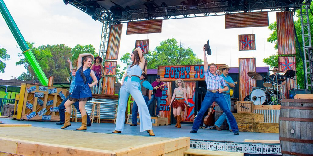 Entertainment - Deep in the Heart show at Six Flags Over Texas