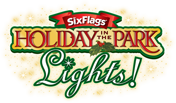 Six Flags Holiday in the Park Lights