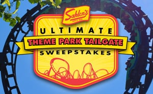 Sahlens Ultimate Theme Park Tailgate Sweepstakes logo