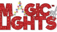 A logo for the Magic of Lights