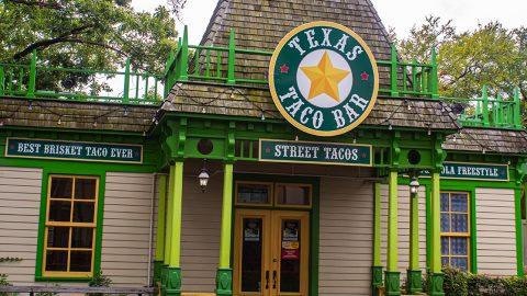 Texas Taco at Six Flags Over Texas