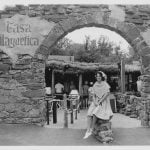 Casa Magnetica's entrance historical image at Six Flags Over Texas