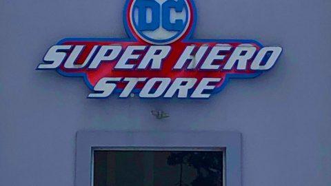DC Super Hero Store at SF Great Adventure