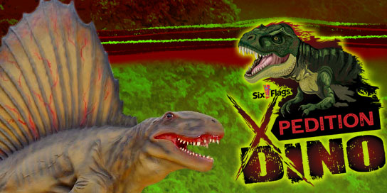 Xpedition Dino ticket logo