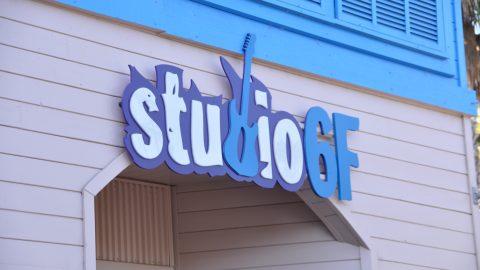 Studio 6F retail store sign