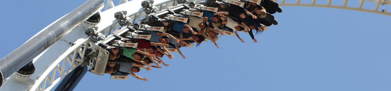 Six Flags Magic Mountain - Full Throttle Media Day Photo by Mathew Imaging