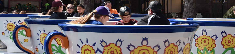 La Fiesta De Las Tazas at Six Flags Over Texas