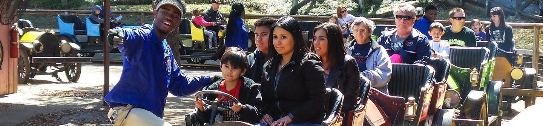 Families on Chaparrel Cars
