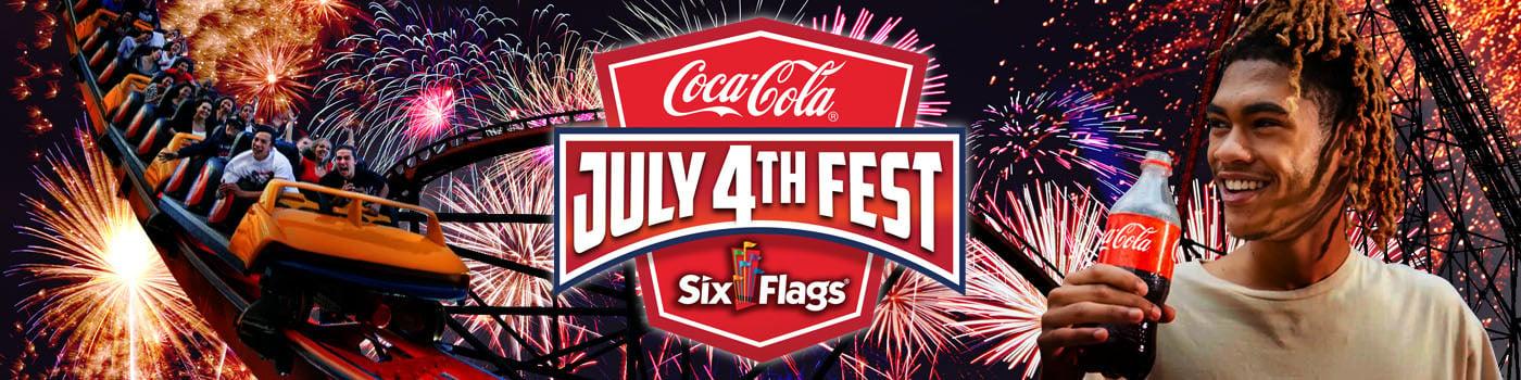 Coca-Cola July 4th Fest at Six Flags