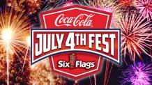 Coca-Cola July 4th Fest at Six Flags logo
