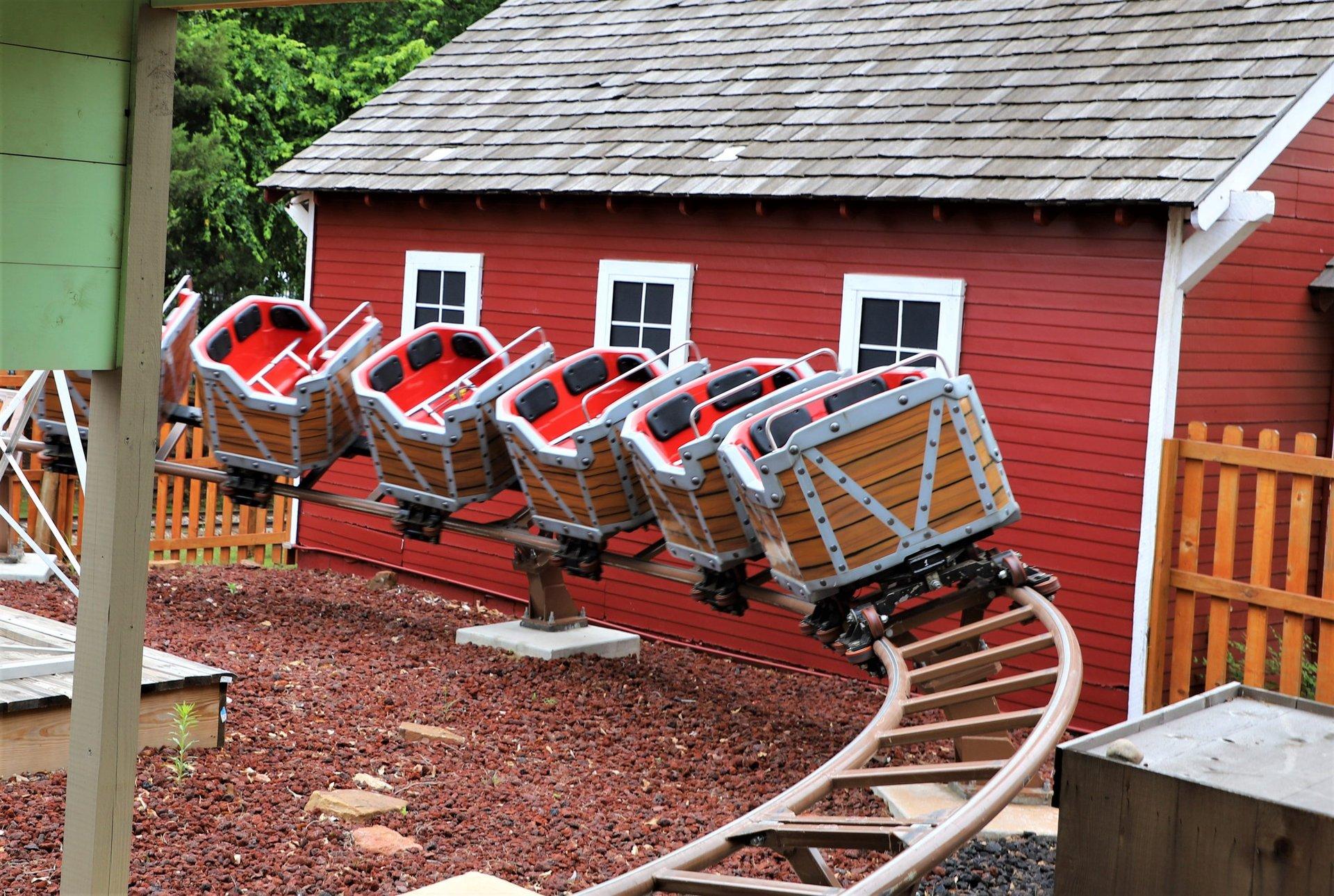 Frankie's Mine Train coaster