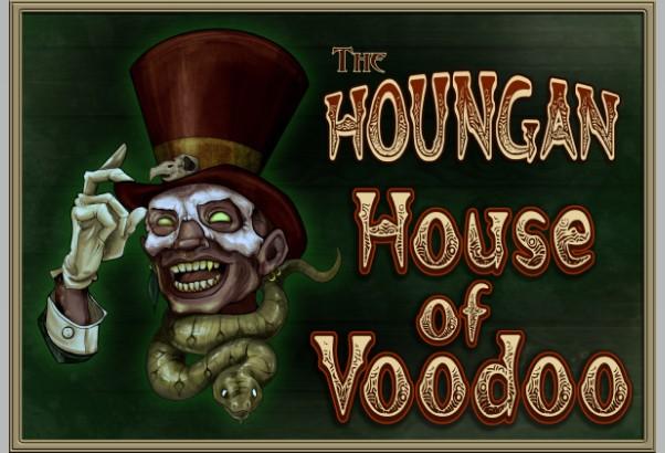 Houngan House of Voodoo logo
