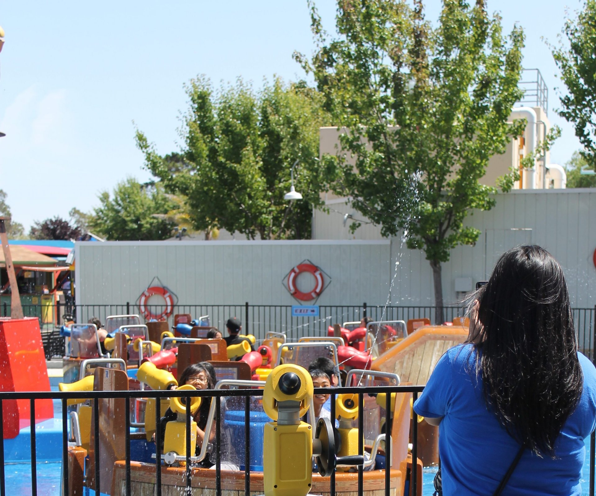 The Penguin, a water ride at Six Flags Discovery Kingdom in Vallejo, CA.