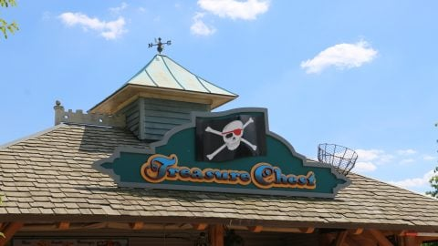 Treasure Chest location at six flags