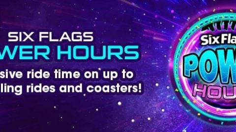 Enjoy Power Hours at Six Flags St Louis on select Fridays.