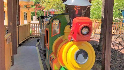 Kids train ride at The Great Escape