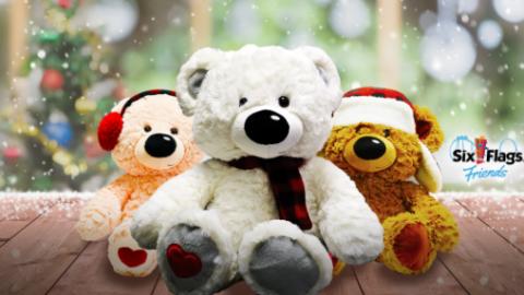 teddy bears ready for the holidays