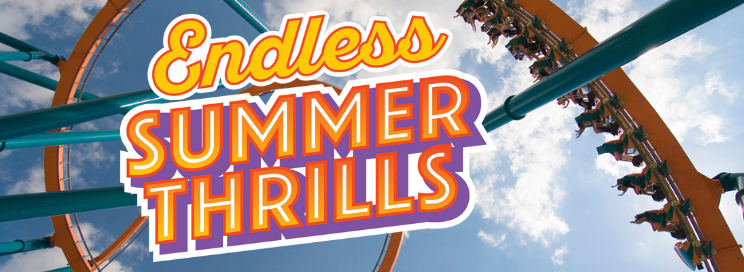 Endless Summer Thrills event at Six Flags.