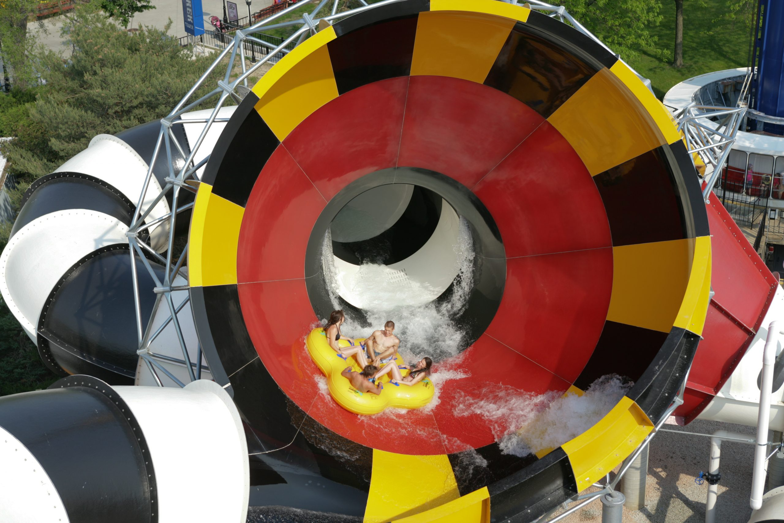 Wipeout at Hurricane Harbor Chicago
