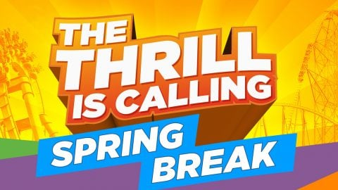 The thrill is calling. Six Flags is open for spring break