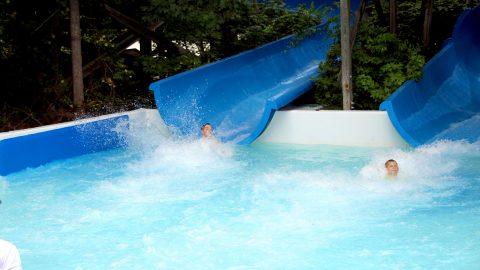 tidal wave ride at-Hurricane Harbor White water-atlanta