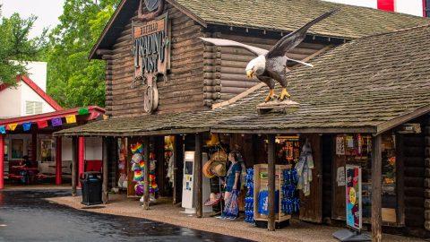 Buffalo Trading Post at Sixflags over Texas