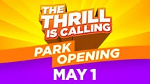 Park opening May 1, 2021