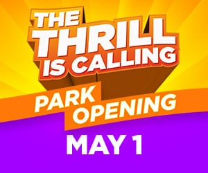 Six Flags The Thrill is Calling Opens May 1, 2021